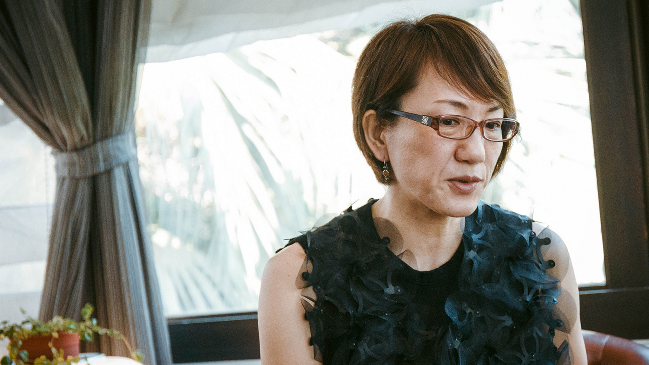 A picture of director Naoko Ogigami.